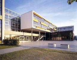Vierzügiges Gymnasium, Berlin: Pausenhof