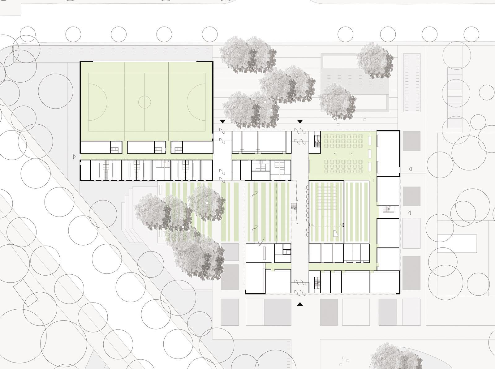 innenhof architektur grundriss mit das im jahr auf renovierte haus berzeugt durch seine. Black Bedroom Furniture Sets. Home Design Ideas