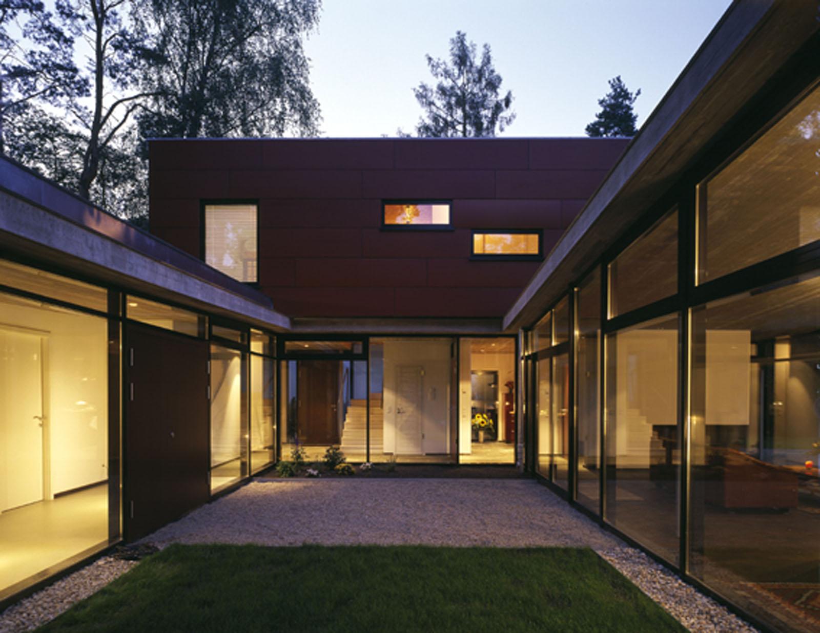 Haus r kleinmachnow bei berlin alten architekten berlin for Einfamilienhaus berlin