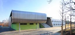 Dreifeld-Sporthalle Baußnernweg, Berlin-Marienfelde