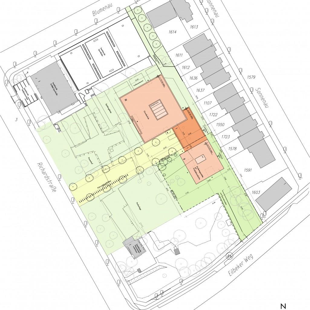 Dreizügige Ganztagsschule Richardstraße, Hamburg